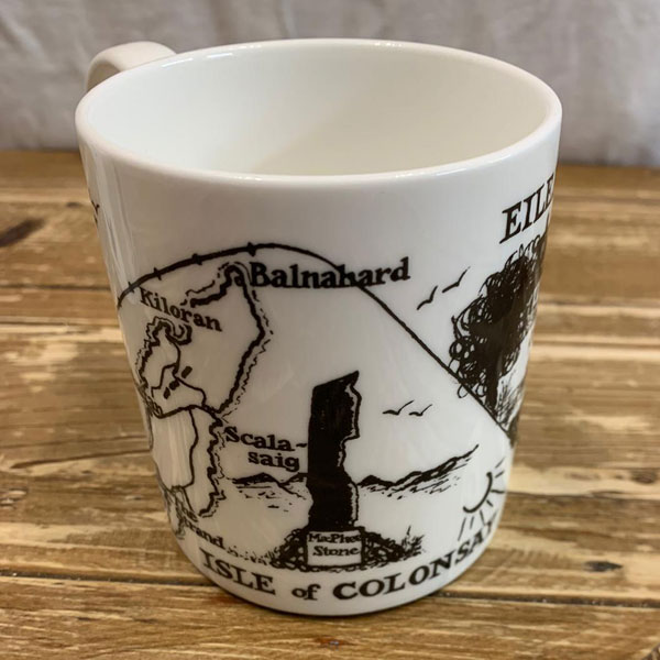 Colonsay Mug - Black Artwork