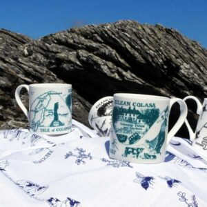 Colonsay Mug - Green Artwork