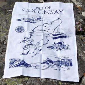 Isle of Colonsay Tea Towel