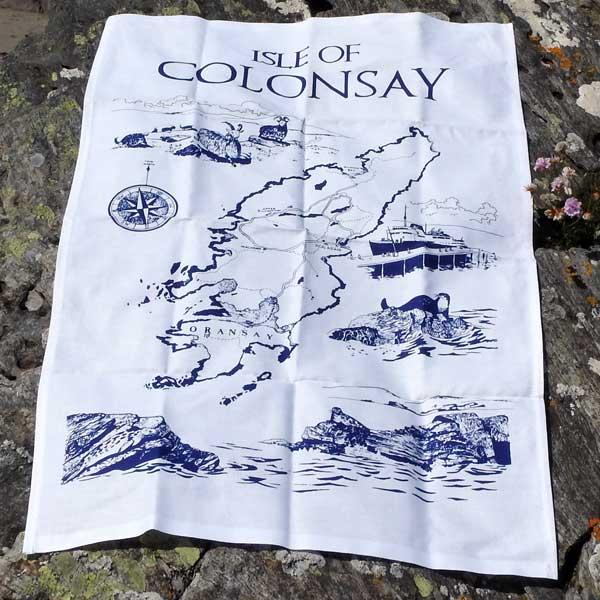 Isle of Colonsay Tea Towel