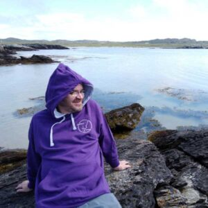 Isle of Colonsay branded clothing