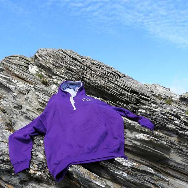 Purple/Grey Hoodie