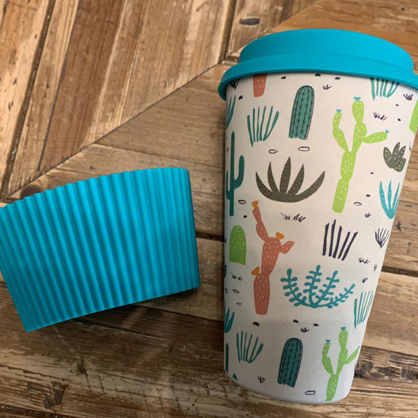 Reusable Cup Cactus pattern