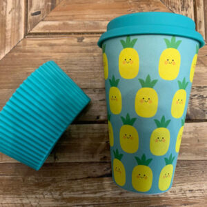 Reusable Cup Pineapple pattern