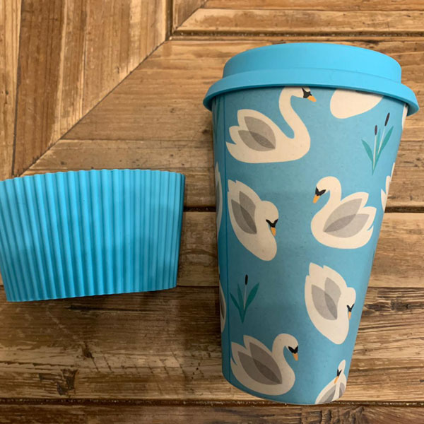 Reusable Cup Swan pattern