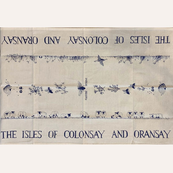Colonsay Oronsay Tea Towel
