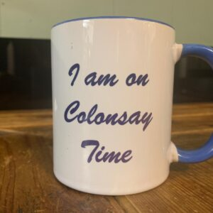 Colonsay Time Mug Blue