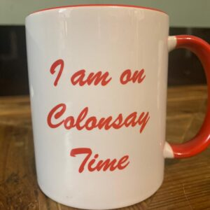 Colonsay Time Mug Red