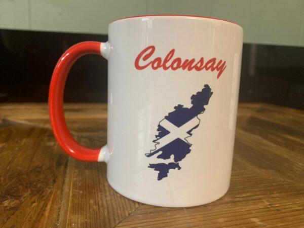 Colonsay Time Mug Red
