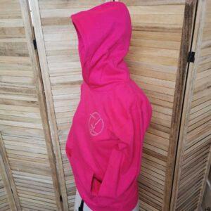 Hot Pink Kids Hoodie
