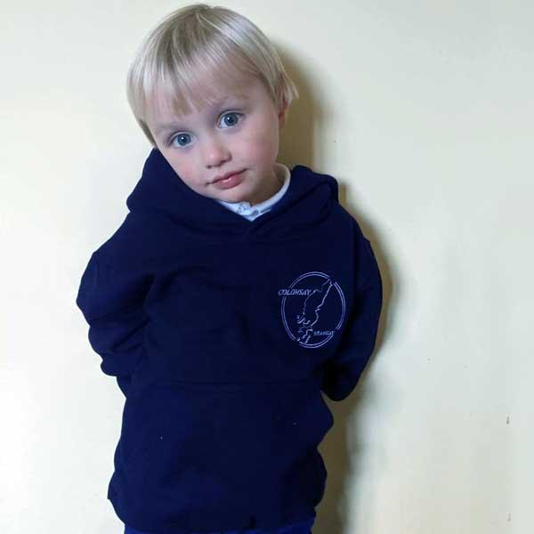 Oxford Navy Kids Hoodie