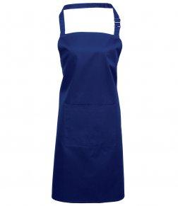 Royal Blue Apron